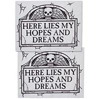 Tombstone Pillowcase Set by Sourpuss - SALE