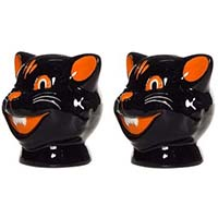 Halloween Cats Salt/Pepper Shakers by Sourpuss