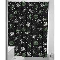 Sourpuss Monster Mosh Shower Curtain