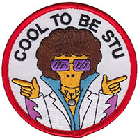 Cool to Be Stu Embroidered Patch by Thrillhaus (EP489)