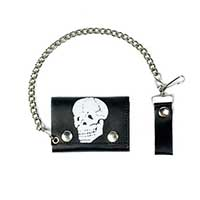 Skull Wallet (Comes With Chain)