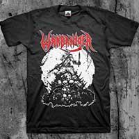 Warbringer- Pile Of Skulls on front, Endless Killing on back on a black shirt