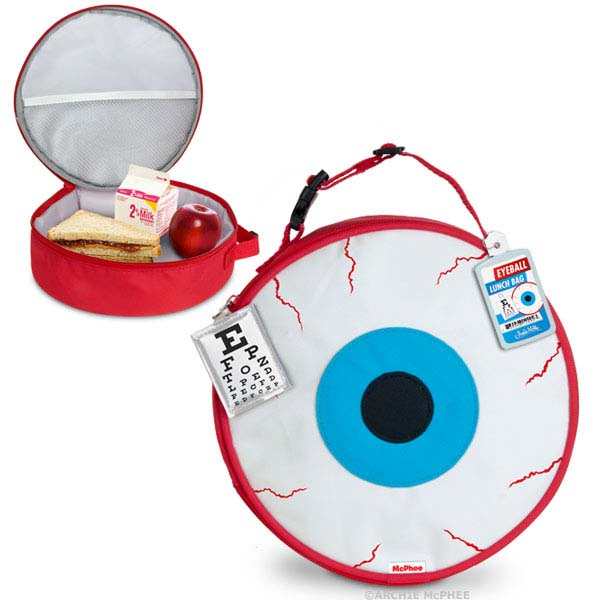 Eyeball Lunch Bag by Accoutrements
