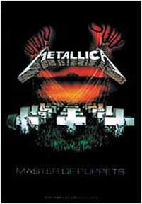 Metallica- Master Of Puppets Fabric Poster