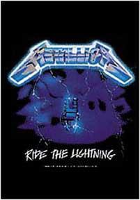 Metallica- Ride The Lightning Fabric Poster