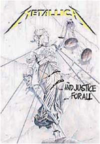Metallica- And Justice For All Fabric Poster/Wall Tapestry