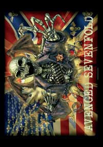 Avenged Sevenfold- Confederate Fabric Poster