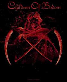 Children Of Bodom- Crossed Scythes Textile Poster/Wall Tapestry