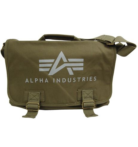 Canvas Courier Bag by Alpha Industries (Sale price!)