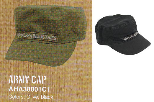 Army Hat by Alpha Industries