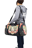 Butterfly Gypsy Traditional Tattoo Art HUGE Duffle Bag by LiquorBrand