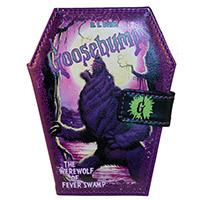 Goosebumps Curse of Werewolf Swamp Coffin Vinyl Wallet from Kreepsville 666