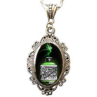 Absinthe Necklace by Alkemie - SALE
