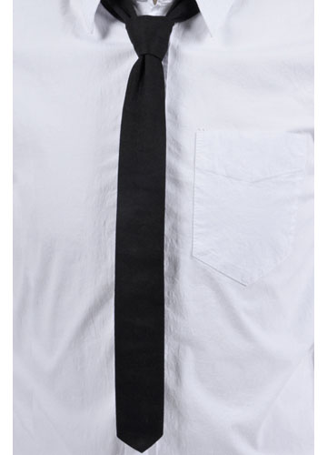 Black Skinny Tie by Tripp NYC