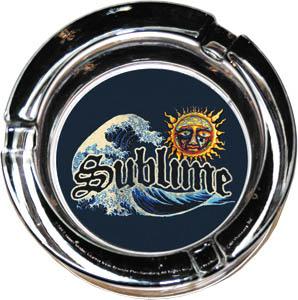 Sublime- Sun Ashtray (Glass)