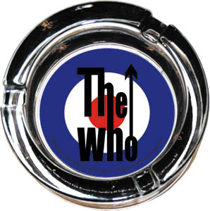 Who- Mod Logo Ashtray (Glass)