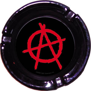 Anarchy Ashtray (Glass)