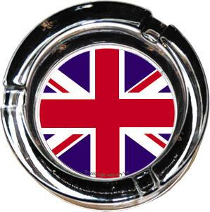 Union Jack Ashtray (Glass)