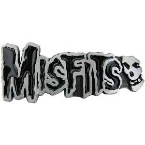 Misfits- Logo & Skull belt buckle (bb246)