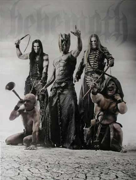 Behemoth- Band Pic poster