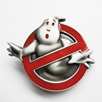 Ghostbusters belt buckle (bb204)