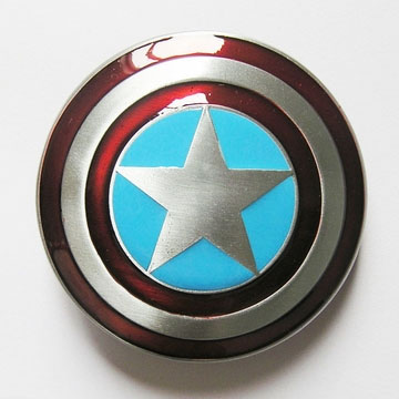 Captain America Shield belt buckle (bb176)