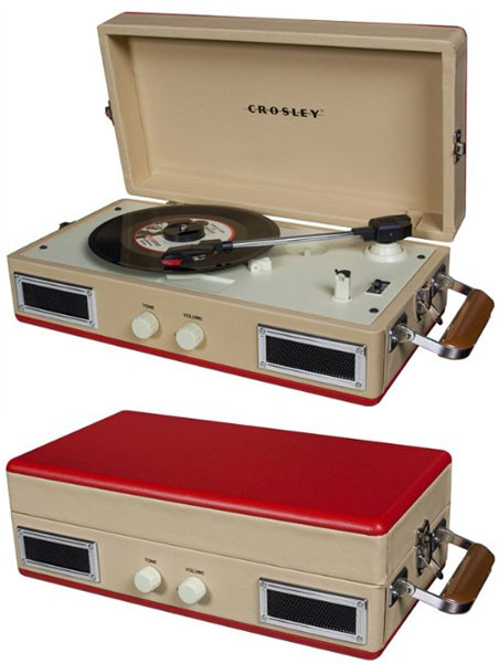 Mini-Turntable by Crosley- Red (Sale price!)