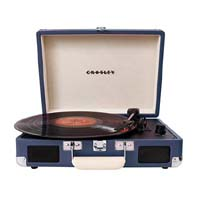 Cruiser Turntable by Crosley- Blue (Sale price!)