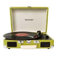 Cruiser Turntable by Crosley- Green