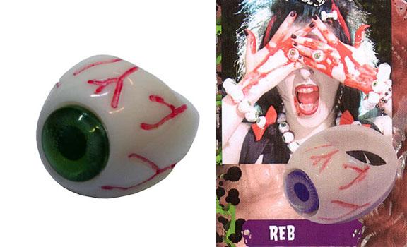 Eyeball Ring by Kreepsville 666