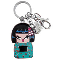 Kimono Cutie Keychain / Purse Dangle by Fluff