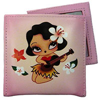 Hula Girl Compact Mirror by Fluff - SALE