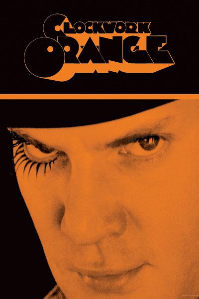 Clockwork Orange- Alex Face poster