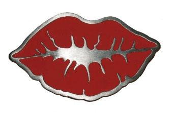 Lips belt buckle (bb133)