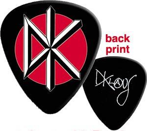 Dead Kennedys- DK (Black) Guitar Pick