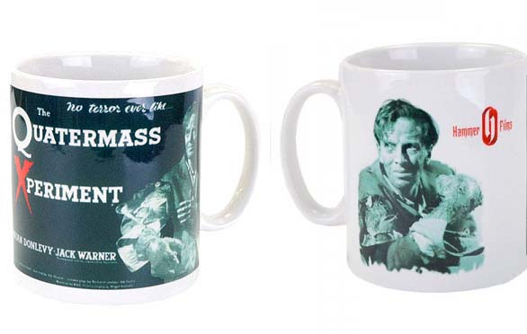 Hammer Films- Quartermass Xperiment coffee mug by Darkside - SALE