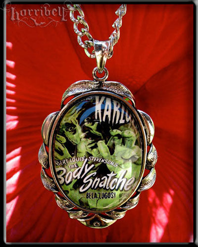 Body Snatchers Bela Lugosi Necklace by Horribell