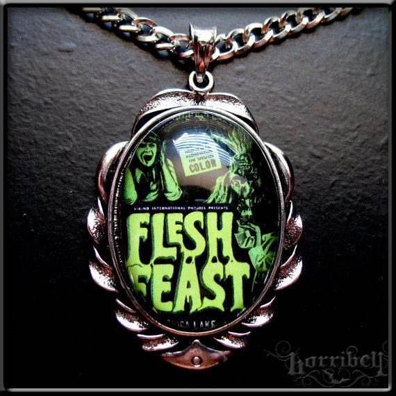 Flesh Feast Zombie Necklace by Horribell
