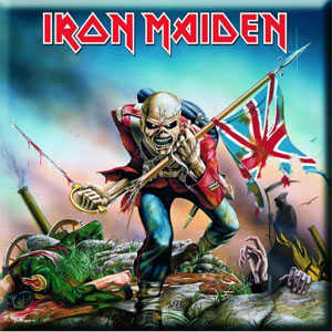 Iron Maiden- The Trooper magnet