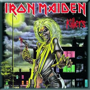 Iron Maiden- Killers magnet