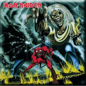 Iron Maiden- The Number Of The Beast magnet