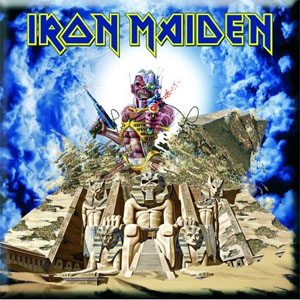 Iron Maiden- Somewhere Back In Time magnet