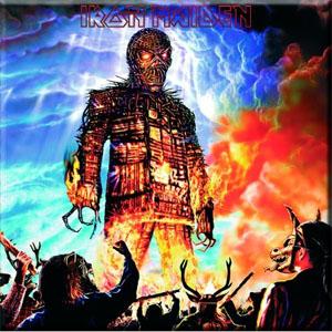 Iron Maiden- Wicker Man magnet