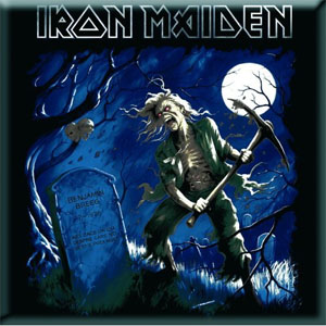 Iron Maiden- Benjamin Breeg magnet
