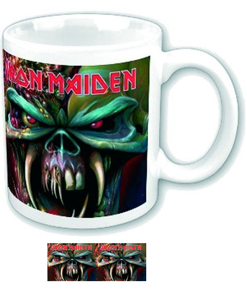 Iron Maiden- The Final Frontier coffee mug