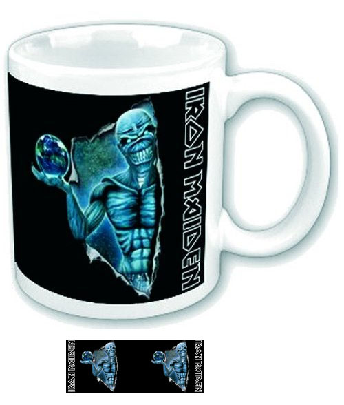 Iron Maiden- Different World coffee mug