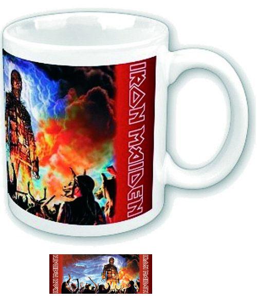 Iron Maiden- Wicker Man coffee mug