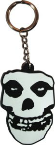 Misfits- Skull 3D Rubber keychain