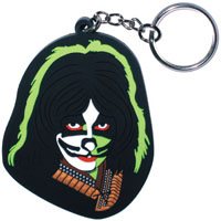 Kiss- Peter Chris 3D Rubber keychain