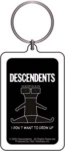 Descendents- I Don't Want To Grow Up Lucite Keychain